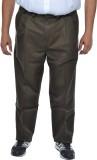 Asaba Regular Fit Men's Green Trousers