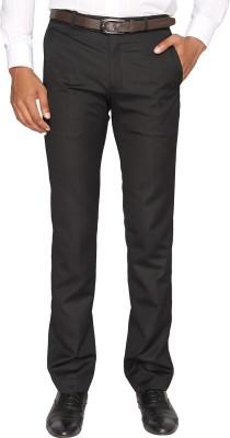 Fairro Trousers Regular Fit Men's Black Trousers