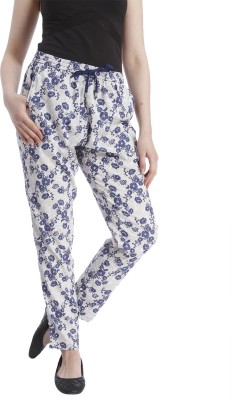 Only Regular Fit Women's White Trousers