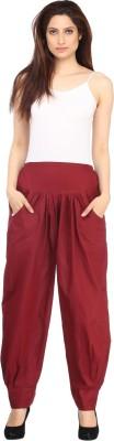 Ankita Solid Cotton Women's Harem Pants