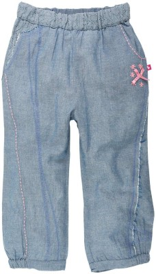Fisher-Price Regular Fit Girl's Blue Trousers