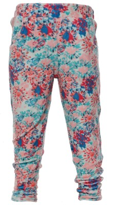 Babiano Regular Fit Girl's Multicolor Trousers