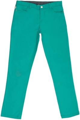 Aristot Regular Fit Boy's Green Trousers
