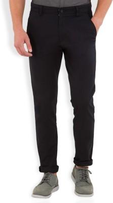 HIGHLANDER Slim Fit Men's Dark Blue Trousers