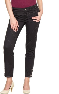 Species Regular Fit Women's Black Trousers