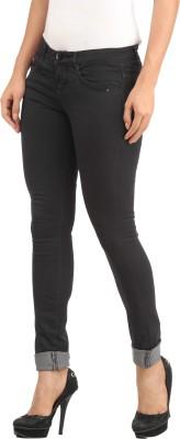 Lotus Skinny Fit Women's Black Trousers