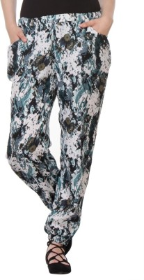 Purys Regular Fit Women's Multicolor Trousers