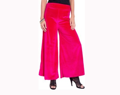 Agrima Fashion Regular Fit Women's Pink Trousers