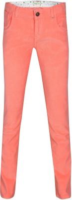 Gini & Jony Regular Fit Girls Pink Trousers
