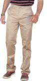 Ashdan Regular Fit Men's Beige Trousers