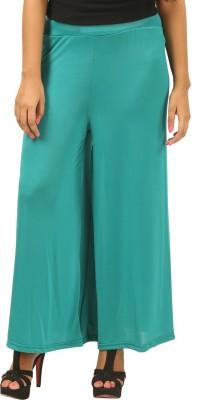 Advika Regular Fit Women,s Green Trousers