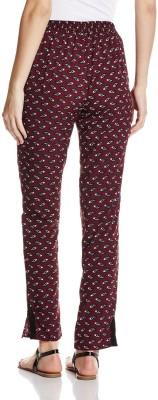 Atayant Regular Fit Women's Brown Trousers