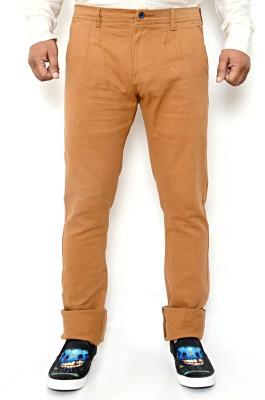 Hartmann Slim Fit Men's Gold Trousers