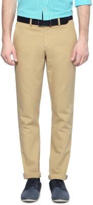 Allen Solly Regular Fit Men,s Cream Trousers