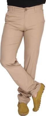 Ramarrow Slim Fit Men's Beige Trousers