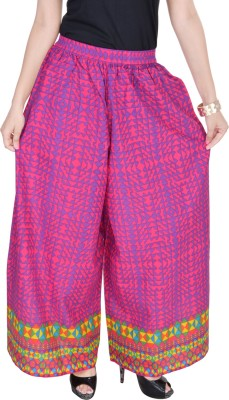 FabStyle Regular Fit Women's Pink Trousers