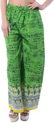 Stri Regular Fit Women's Green Trousers