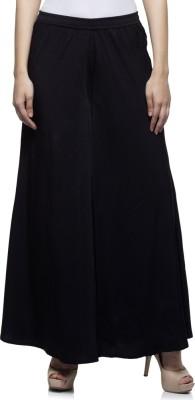 Laabha Regular Fit Women's Black Trousers