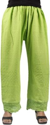 Taraz Regular Fit Women's Light Green Trousers