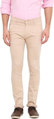 Dais Slim Fit Men's Beige Trousers