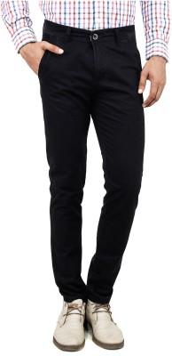 Uber Urban Slim Fit Men's Black Trousers