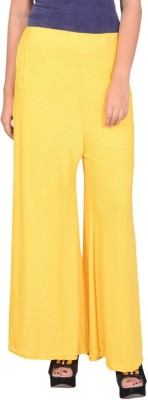 capy Regular Fit Women's Yellow Trousers