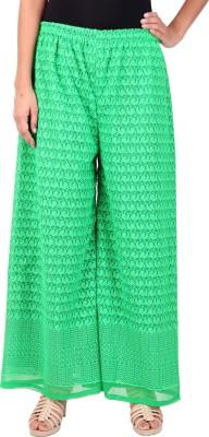 Saiarisha Regular Fit Women's Green Trousers