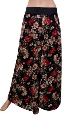 GraceDiva Regular Fit Women's Black, Red Trousers
