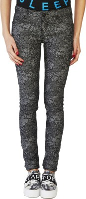 Globus Skinny Fit Women's Black Trousers