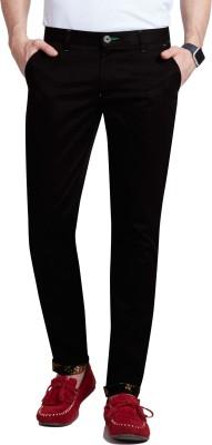 Specimen Slim Fit Men's Black Trousers