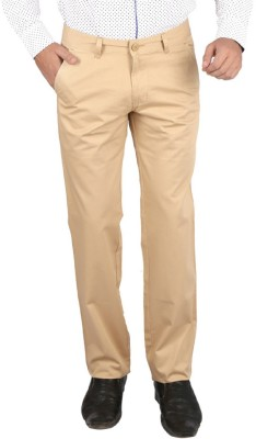 Appollo Slim Fit Men's Brown Trousers