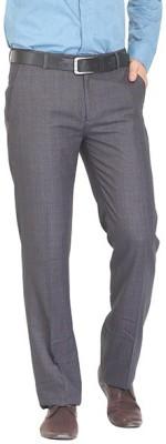 Nattg Slim Fit Men's Multicolor Trousers