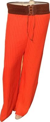 Mastketeers Regular Fit, Slim Fit Women's Orange Trousers