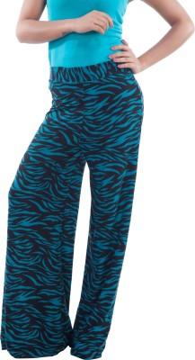 TrendBAE Regular Fit Women's Green, Black Trousers
