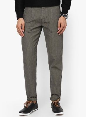 Jack & Jones Regular Fit Men's Grey Trousers