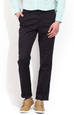 Blackberrys Slim Fit Men's Dark Blue Trousers