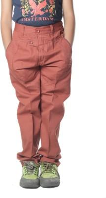 SETVEL Slim Fit Boy's Brown Trousers