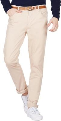 American Swan Slim Fit Men's Beige Trousers