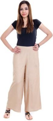 Fille Divin Regular Fit Women's Beige Trousers