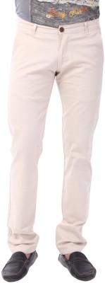 Club Fox Regular Fit Men's Beige Trousers