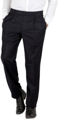 Follow Up Slim Fit Men's Dark Blue Trousers