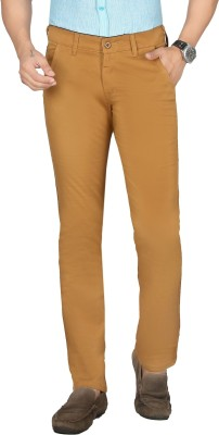 Sloper Slim Fit Men's Beige Trousers