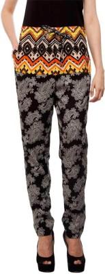 Orous Regular Fit Women's Black Trousers