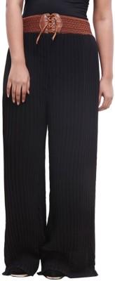 Fashion Arcade Regular Fit Women's Black Trousers