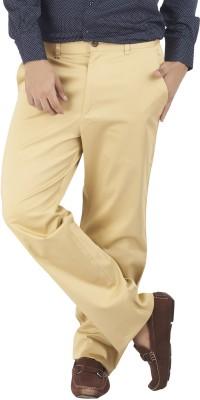 Silkina Regular Fit Men's Gold Trousers