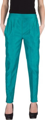 Castle Regular Fit Women's Dark Green Trousers