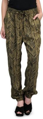 Kiosha Regular Fit Women's Black Trousers