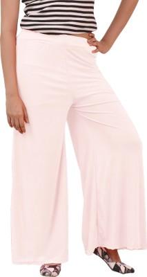 carrol Regular Fit Women's White Trousers