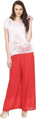 FIFO Regular Fit Women's Red Trousers