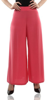 Komal Trading Co Regular Fit Women's Pink Trousers